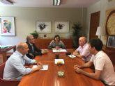Los alcaldes de la vega alta piden a la Consejería de Sanidad más medios para el Hospital Vega Lorenzo Guirao