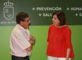 Sanidad subraya la labor que desarrolla la Asociación Regional Murciana de Hemofilia