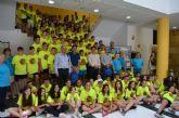 Más de un centenar de chicos y chicas , de entre 8 y 17 años, participan en el 27 Campeonato de España Juvenil 'Copa S.M. El Rey' de Palomos Deportivos, en San Javier