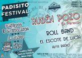Rubén Pozo, ex miembro de Pereza, estará en Totana en el sexto PADISITO Festival