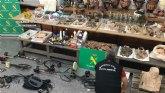 La Guardia Civil desarticula una organización criminal dedicada a expoliar yacimientos arqueológicos