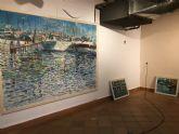 El pintor murciano Fulgencio Saura Mira dedica su nueva exposición, 'Reflejos',  al Mar Menor