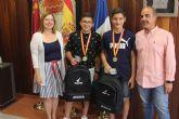 Dos pinatarenses conquistan el campeonato de España infantil de fútbol sala con ElPozo FS