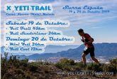 El 19 y 20 de octubre, la Yeti Trail cumple 10 años