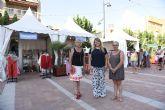 Feria outlet de comercios locales en la plaza toneleros