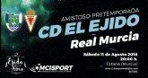 Totana acogerá el amisto de pretemporada entre el Club Deportivo El Ejido y el Real Murcia