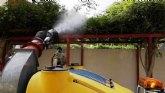 Realizan diversas actuaciones incluidas en el programa integrado de control de plagas urbanas, m�s concretamente contra los mosquitos