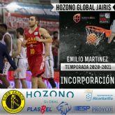 Emilio Martínez, nueva incorporación del Hozono Global Jairis de LEB Plata