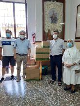 ECONEX entrega mascarillas FFP2 y geles hidroalcohólicos a las parroquias de Santomera