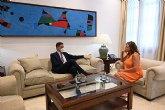 Pedro Sánchez se reúne con la presidenta de Illes Baleares, Francina Armengol