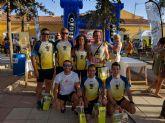 Miembros del Club Atletismo de Totana participan en el tercer Cross de Fuente Librilla