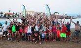 Move organiz� una exhibici�n de Combat en las playas de Mazarr�n