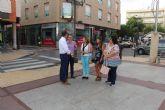 Comienzan las obras de modernización y accesibilidad del centro urbano de San Pedro del Pinatar