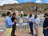 La Comunidad invierte 613.000 euros en obras de consolidación de laderas en Blanca para evitar la caída de grandes rocas