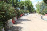 Avanzan en La Estacada las obras de renovación de infraestructuras de la calle Jardín Botánico y su prolongación hasta La Vía