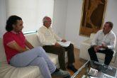 El alcalde se reúne con el presidente de la Fundación Savia por el Compromiso y los Valores