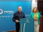 El PP considera que la retirada de las competencias a Candi Marín en el Ayuntamiento de Moratalla 'llega tarde'