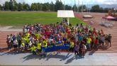 Más de 200 escolares participan en la Jornada de Deporte para la Integración de los Juegos Deportivos del Guadalentín