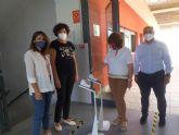La campaña solidaria de Aseplu y Ayuntamiento dota a todos los centros educativos de Puerto Lumbreras de soportes de temperatura