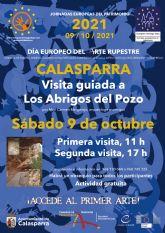 El Ayuntamiento de Calasparra organizará dos visitas guiadas gratuitas a LOS ABRIGOS DEL POZO con motivo del día europeo del arte rupestre