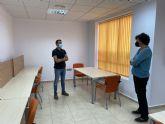 El Ayuntamiento inaugura la nueva sala de estudio 24 horas del Barrio Francés; la tercera de Puerto Lumbreras