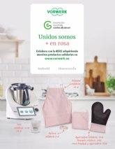 'Unidos somos + en rosa', la nueva campana de ThermomixR y Kobold en su lucha contra el cáncer de mama