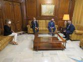 Ribera Hospital de Molina traslada al presidente de la Asamblea de Murcia su proyecto y compromiso con la región