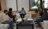 Reunión con el Consejero de Consejero de Fomento e Infraestructuras Pedro Rivera