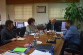Reunión con el Consejero de Desarrollo Económico, Turismo y Empleo, Juan Hernández Albarracín
