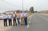 Fomento mejora la seguridad vial y el drenaje de cuatro carreteras que comunican Puerto Lumbreras con sus pedanías