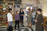 Visita al colegio Nuestra Señora del Rosario de Santomera
