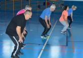 Las clases municipales gratuitas de gerontogimnasia ofrecen hasta 12 grupos distintos