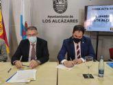 El Presidente de la CHS, Mario Urrea se ha reunido esta mañana con el alcalde de Los Alcázares
