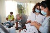 Repartidas cerca de 10.000 mascarillas infantiles en todos los colegios del municipio a trav�s de la campaña �El Ayuntamiento de Alhama te cuida�