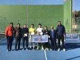 Jesús García y Paola Moreno, campeones regionales absolutos de tenis en Santomera