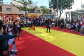 Los niños pinatarenses celebran el 40 aniversario de la Constitución Española