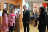 El Delegado del Gobierno en Murcia visita el Centro de Atención a la Infancia