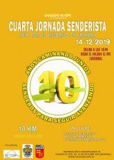 10 días para una nueva cita senderista en el X Aniversario del Colegio El Ope