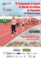 Azuaga, sede del Nacional de Marcha de Invierno de Promoción