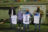 El Atlético Pinatarense dona las camisetas de sus temporadas a la Campaña de Recuperación de la Memoria Histórico Deportiva de San Pedro Pinatar