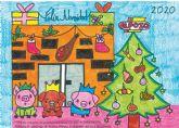 El Pozo Alimentaci�n felicita las navidades con la mejor postal realizada por los hijos de los empleados