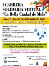I Carrera solidaria virtual «La Bella Ciudad de Mula»