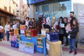 Los comercios lumbrerenses celebran el sorteo de la Campaña de Navidad 'Compra en Puerto Lumbreras'