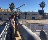 Obras de mejora en la Estación Depuradora de Aguas Residuales de Cieza