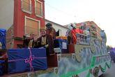 La Cabalgata de los Reyes Magos reparte ilusión en Puerto Lumbreras