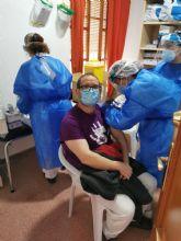 Vacunación frente a la Covid-19 en la Residencia de Prometeo