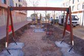 El nuevo parque recreativo en el barrio de Triptolemos estará finalizado la próxima semana