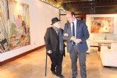 El presidente de la Comunidad recibe al 'tío Juan Rita', trovero murciano que la próxima semana cumple 104 años