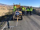 Restituidas las condiciones de seguridad de la carretera que conecta Librilla con la Puebla de Mula