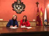 La Alcaldesa y la edil de Ciudadanos firman un acuerdo para aprobar el Presupuesto Municipal